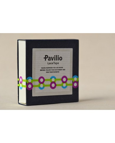 Mini Pavilio button green