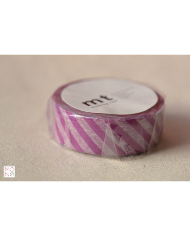 Washitape 112 stripe purple