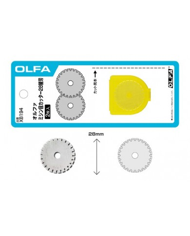 Olfa Lame Perforation 28mm
