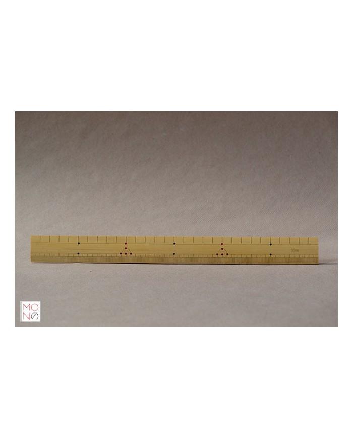 Righello in bambù 30 cm