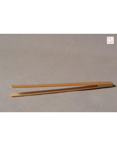 Pinza in bambù con punta squadrata