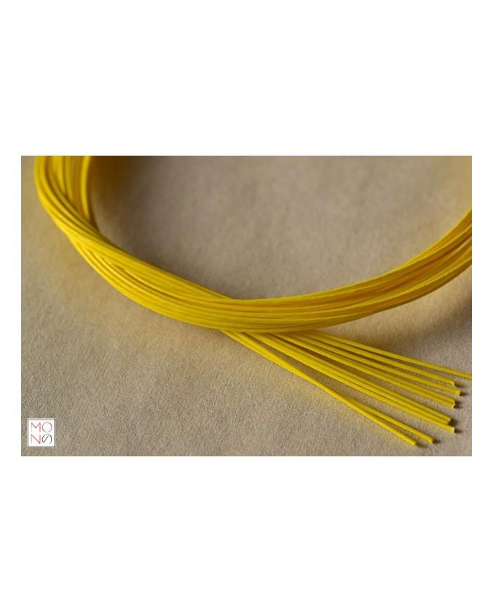 Mizuhiki giallo