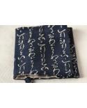 Copri Agenda/Libro/Qaderno calligrafia blu