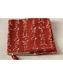Copri Agenda/Libro/Quaderno calligrafia rosso