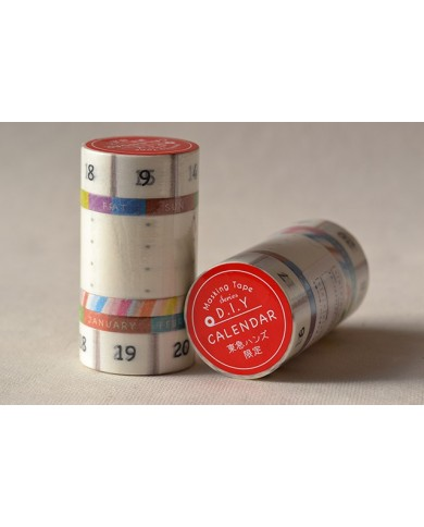 Masking tape calendario colore
