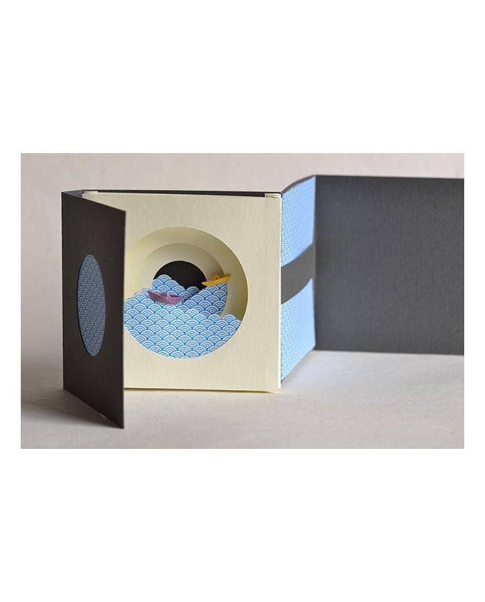 Tunnel book barchette