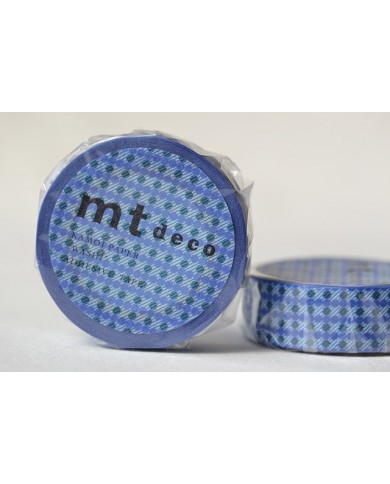 Washitape 154 dot blue