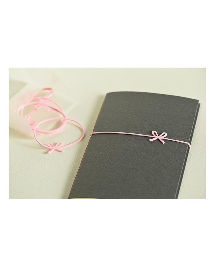 elastici regalo rosa