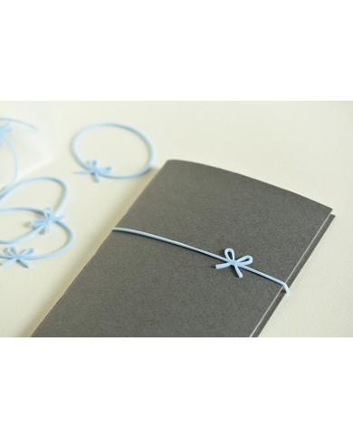 elastici regalo azzurro