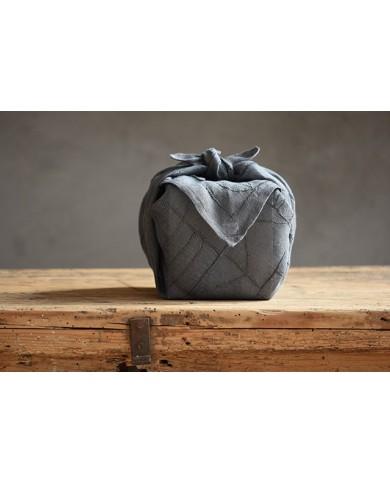 Furoshiki lino grigio