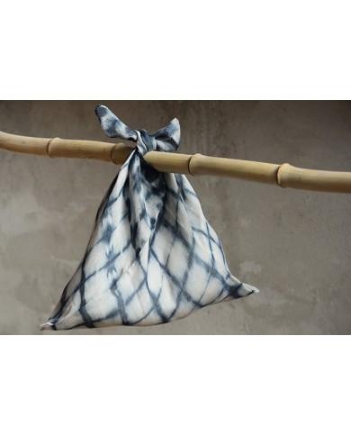 Azuma Baggu blu chevron