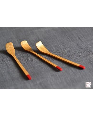 cucchiaino bambù paletta
