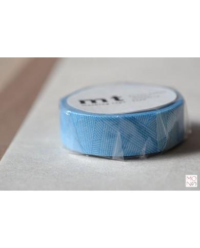 Washitape 025 messy blu