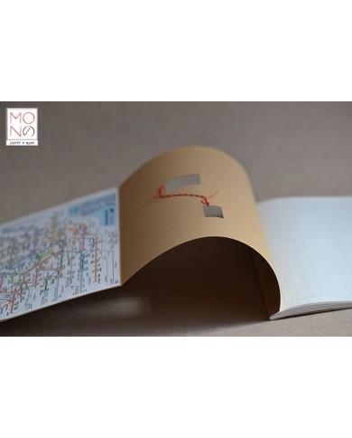 Quaderno Tokyo Metrò