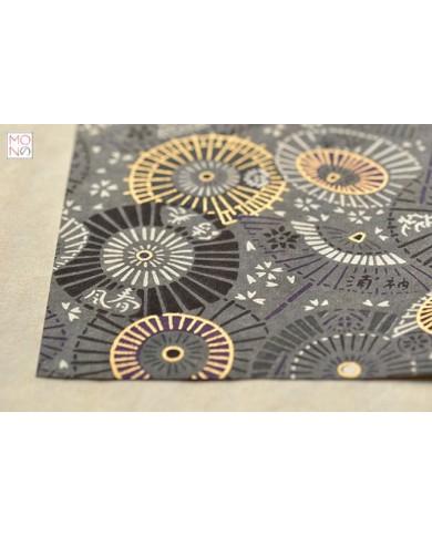 Chiyogami 066 ombrelli grigio
