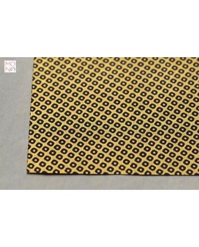 Chiyogami 082 konoko nero su oro
