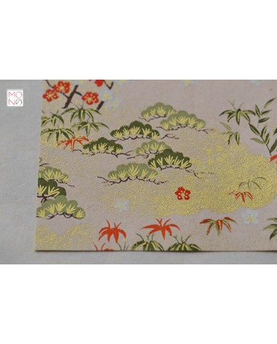 Chiyogami 088 Shōchikubai